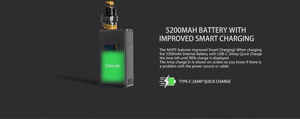 Innokin MVP5 mod MTL/DTL 5200 mAh