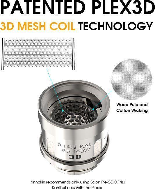 Innokin Scion Plex3D Coil