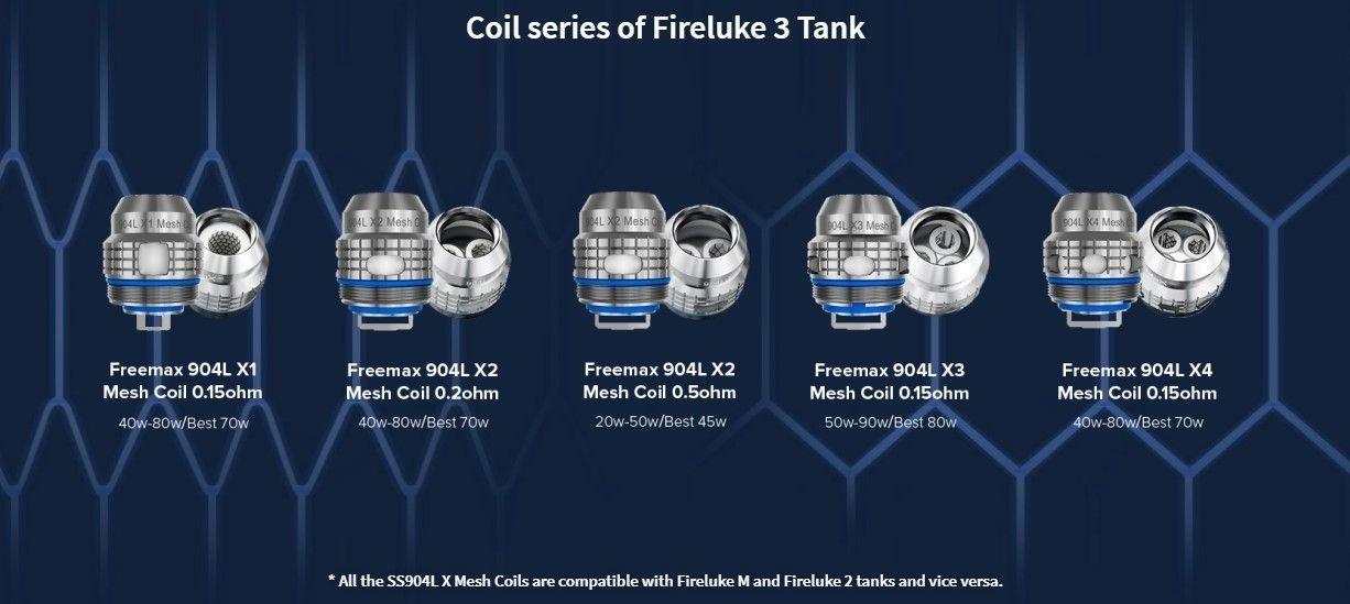 Freemax Fireluke 3 coiler