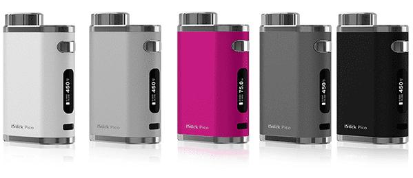 Løse e-sigarett batterier / mods
